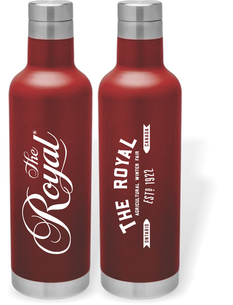 "The Royal Water Bottle ""The TRITON"" - Red"