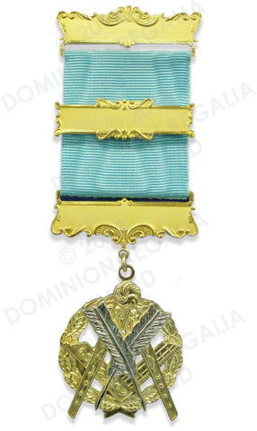 Masonic Secretary Service Jewel