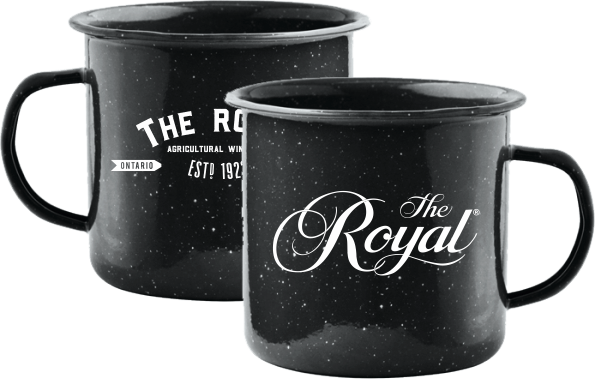 Enamel Coated Tin Royal Mugs - Dominion Regalia Ltd.