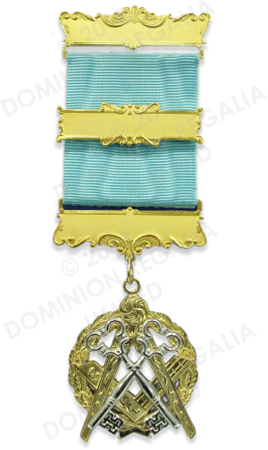 Masonic Treasurer's Service Jewel