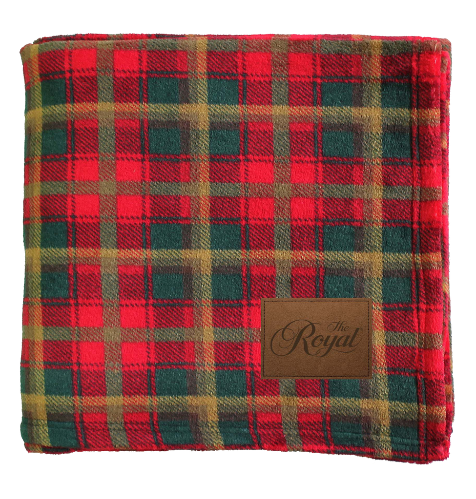 Royal Canadian Plaid Blanket - Dominion Regalia Ltd.