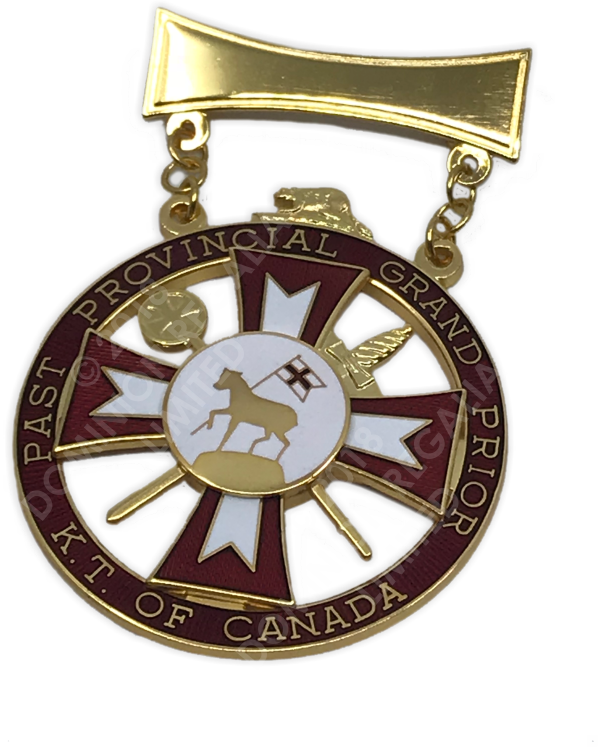KT Past Provincial Prior Jewel - Dominion Regalia Ltd.
