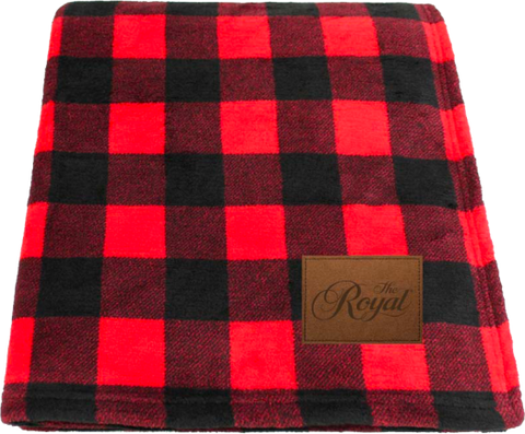 Royal Lumberjack Fleece Blanket - Dominion Regalia Ltd.