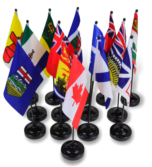 Miniature Provincial Flags