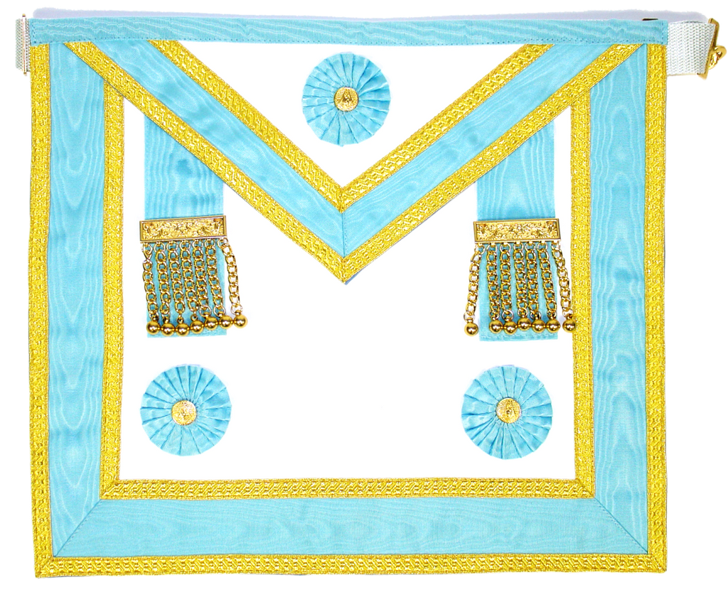Master Mason Apron Gold - Dominion Regalia Ltd.