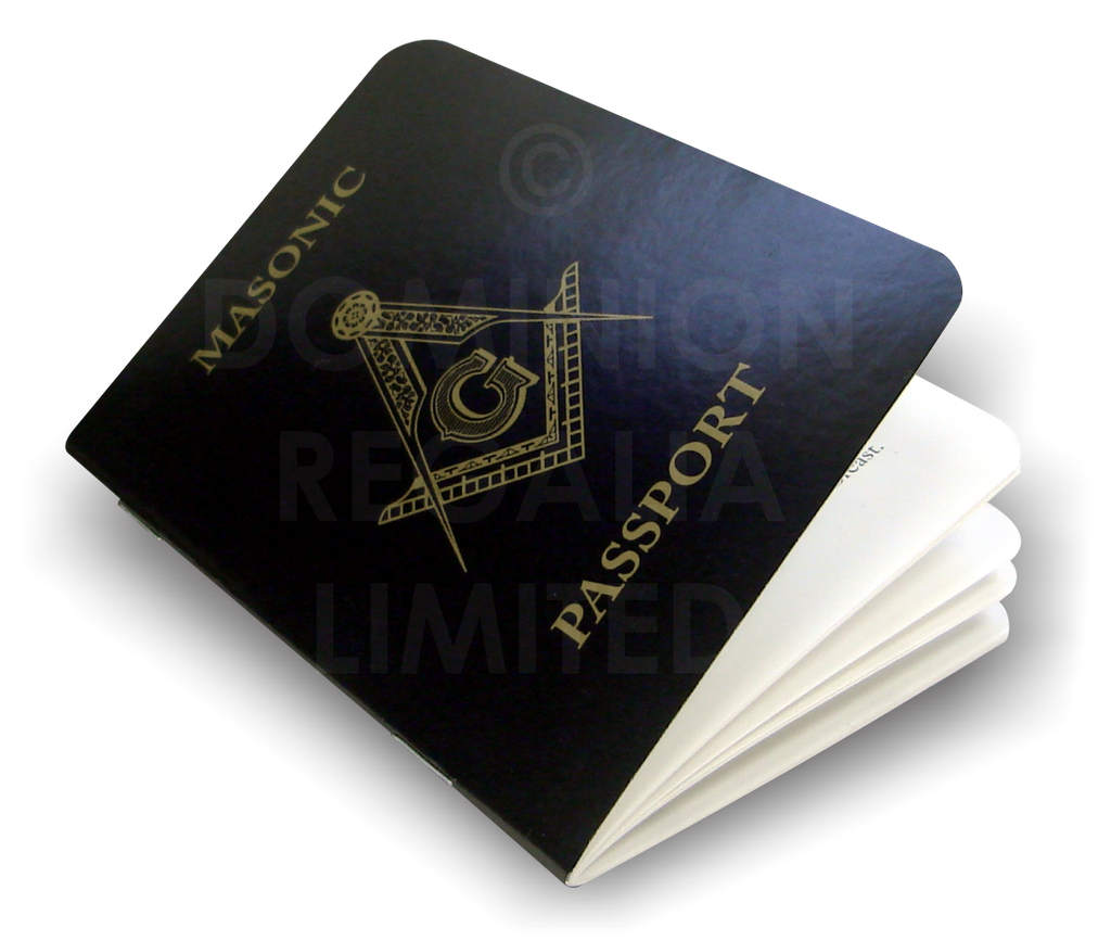 Masonic Passport - Dominion Regalia Ltd.