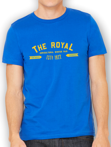 "Royal ""New Age"" Logo T-Shirt"