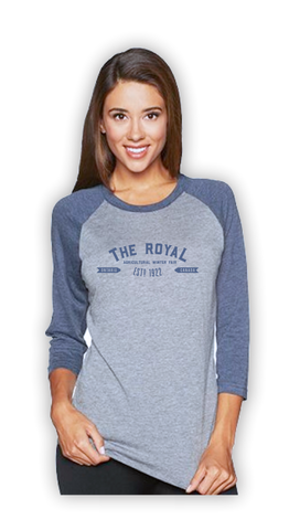 Royal Baseball T-Shirt Unisex
