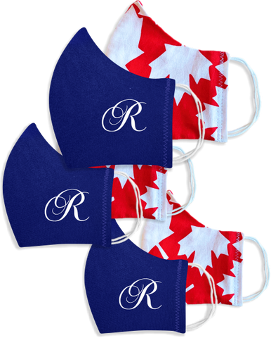 Reversible Non-medical Face Mask with Royal logo