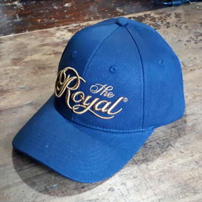 Royal Agricultural Virtual Experience® **SPECIAL**  ROYAL HAT - Navy with 3D Embroidery in Antique Gold