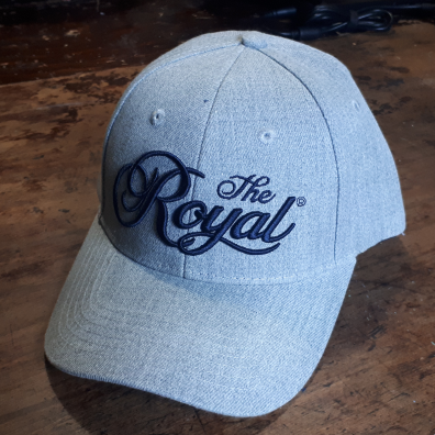 Royal Agricultural Virtual Experience® **SPECIAL**  ROYAL HAT - Light Grey with 3D Embroidery in Navy