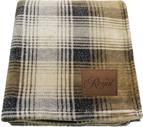 Royal Cabin Tan Plaid - Dominion Regalia Ltd.