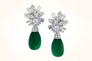 VCA Emerald Drop Earrings