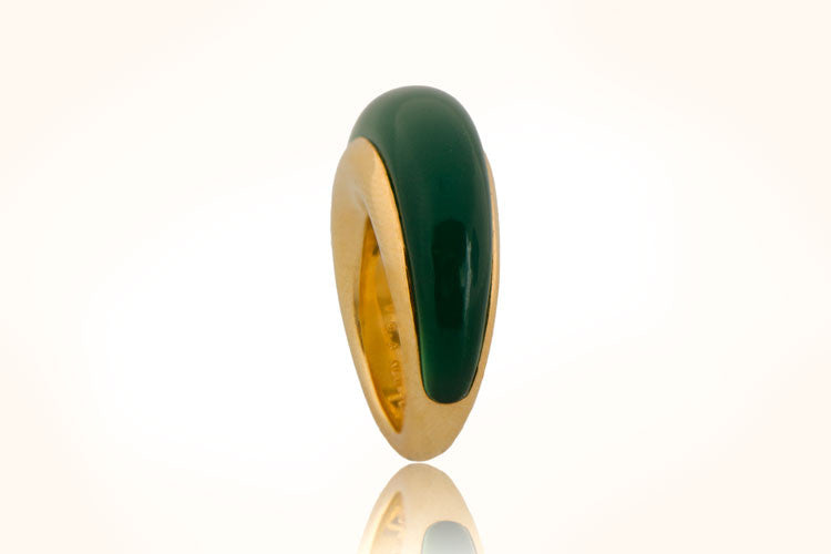VCA Vintage Chalcedony Ring