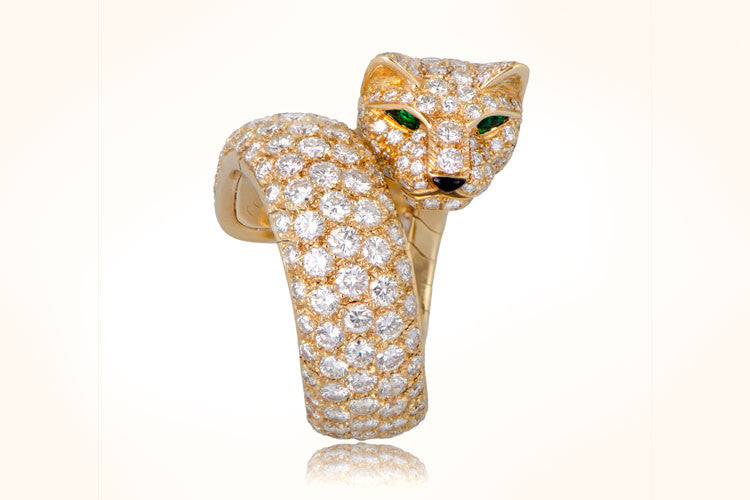 Cartier Panther Gold Ring