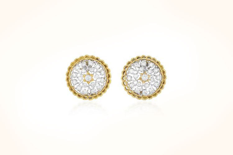 Buccellati Ramage Ear-clips