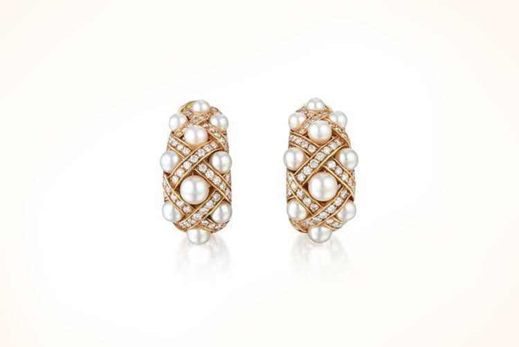 Chanel Matelasse Earrings