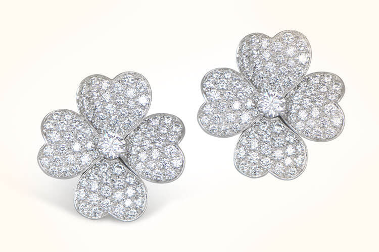 Van Cleef & Arpels Cosmos Earrings