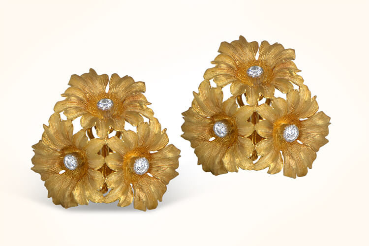 Buccellati Flower Earrings