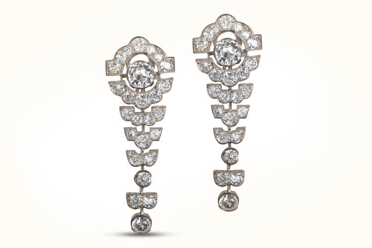 Deco Antique Earrings