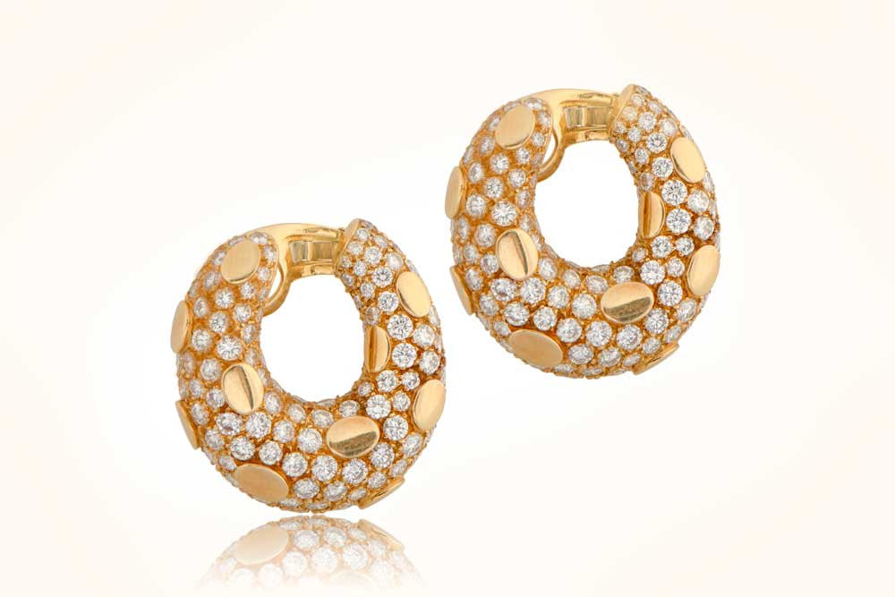 VCA Gold Earrings