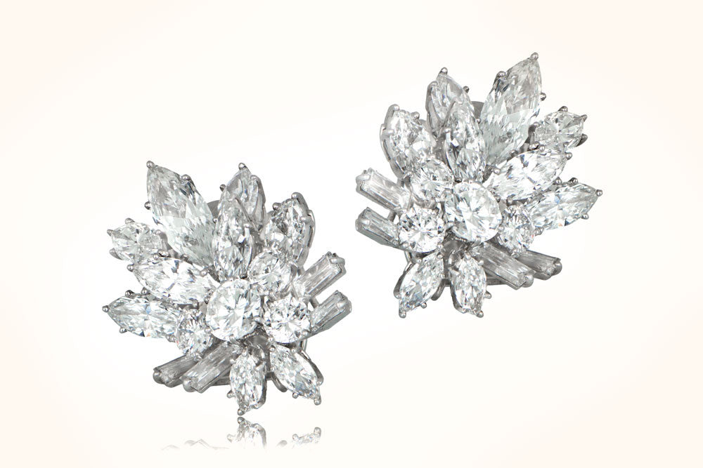 Important Van Cleef & Arpels Diamond Earrings