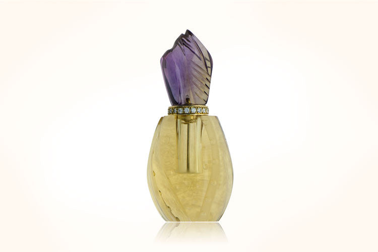 Citrine Perfume Bottle