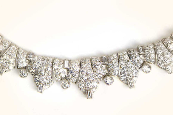 Art Deco Diamond Necklace