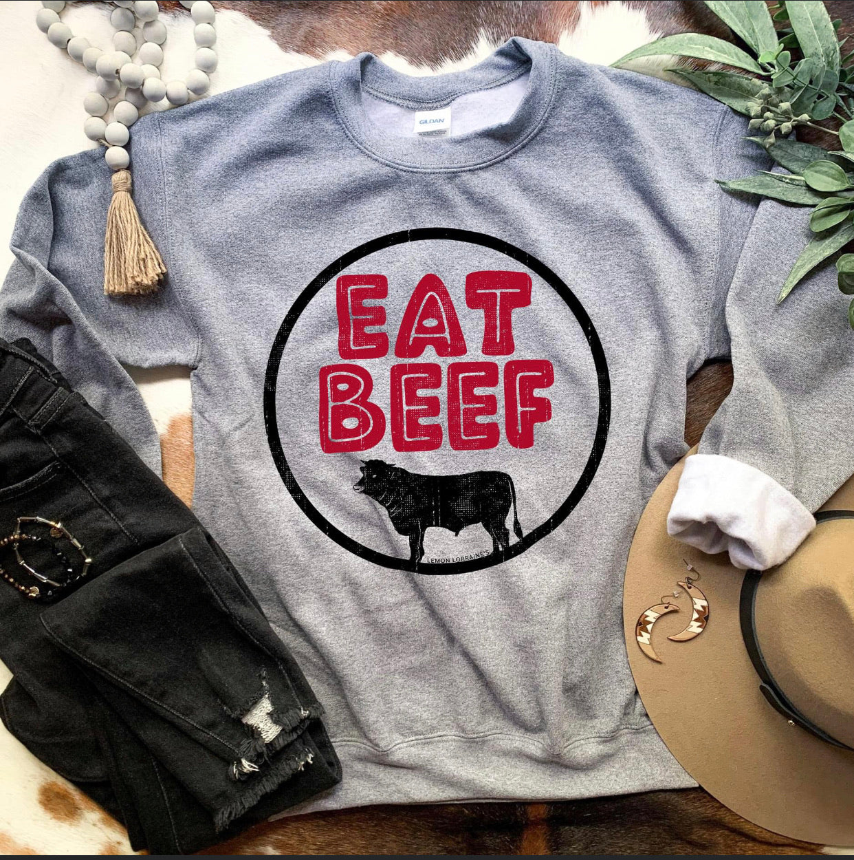 Eat Beef Sweatshirt