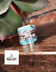 Authentic Turquoise Stacker Ring Sets