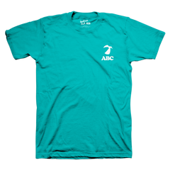 Official Anderson .Paak Teal ABC World Tour Tee