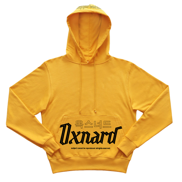 Oxnard Gold Pullover Hoodie
