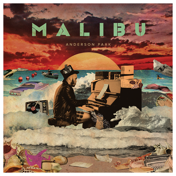 Official Anderson .Paak Malibu Poster