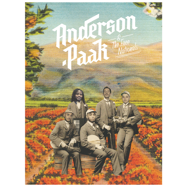 Official Anderson .Paak Strawberry Field Poster