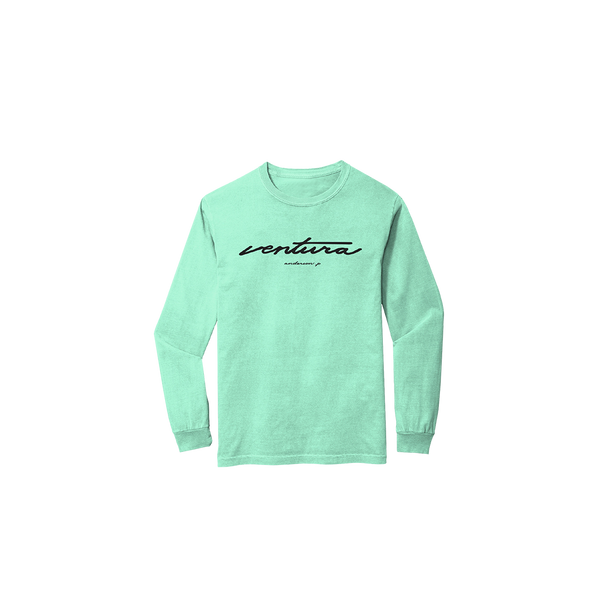 Ventura Mint Long Sleeve + Digital Album