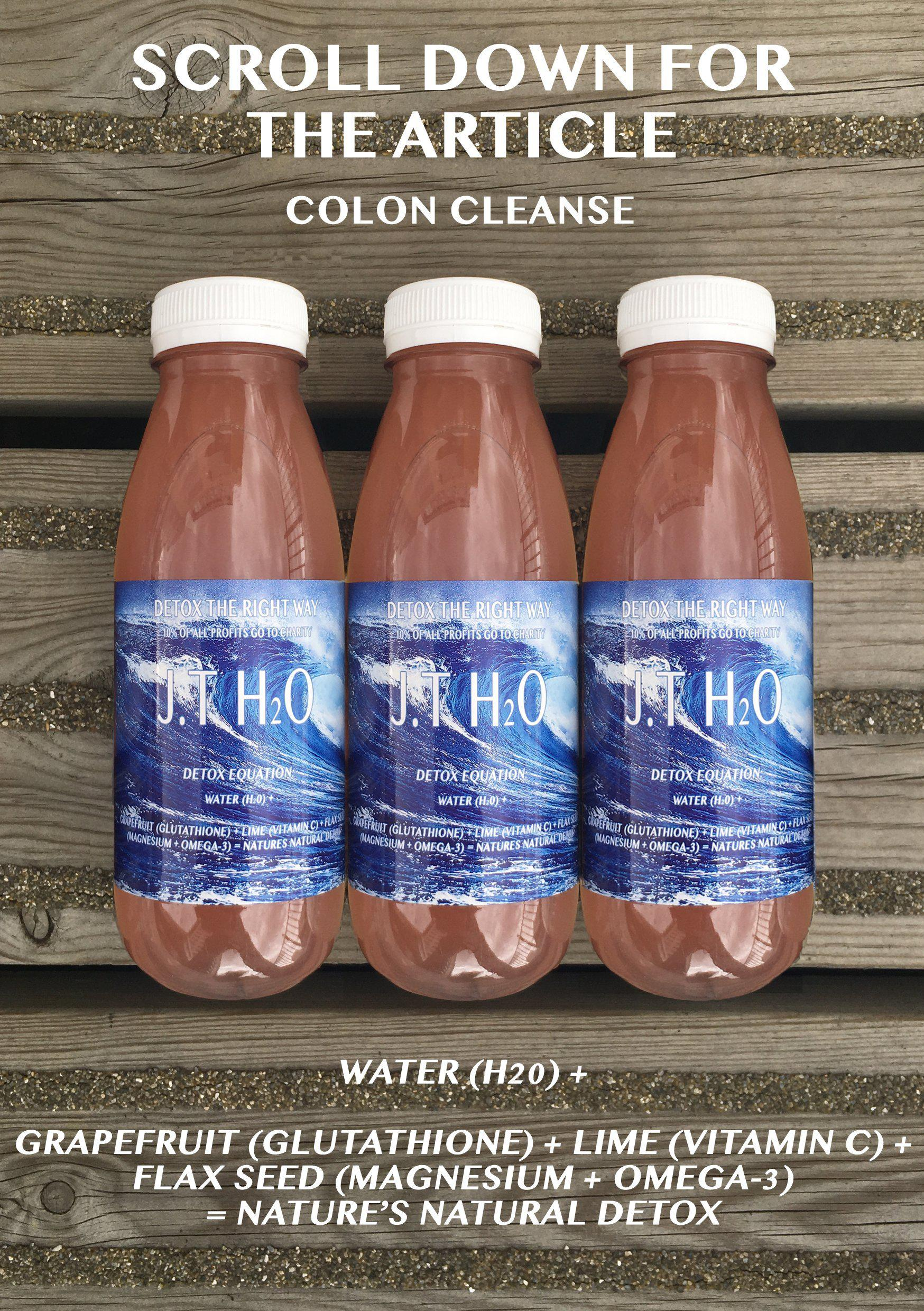 SALT WATER CLEANSE-J.T Freshly