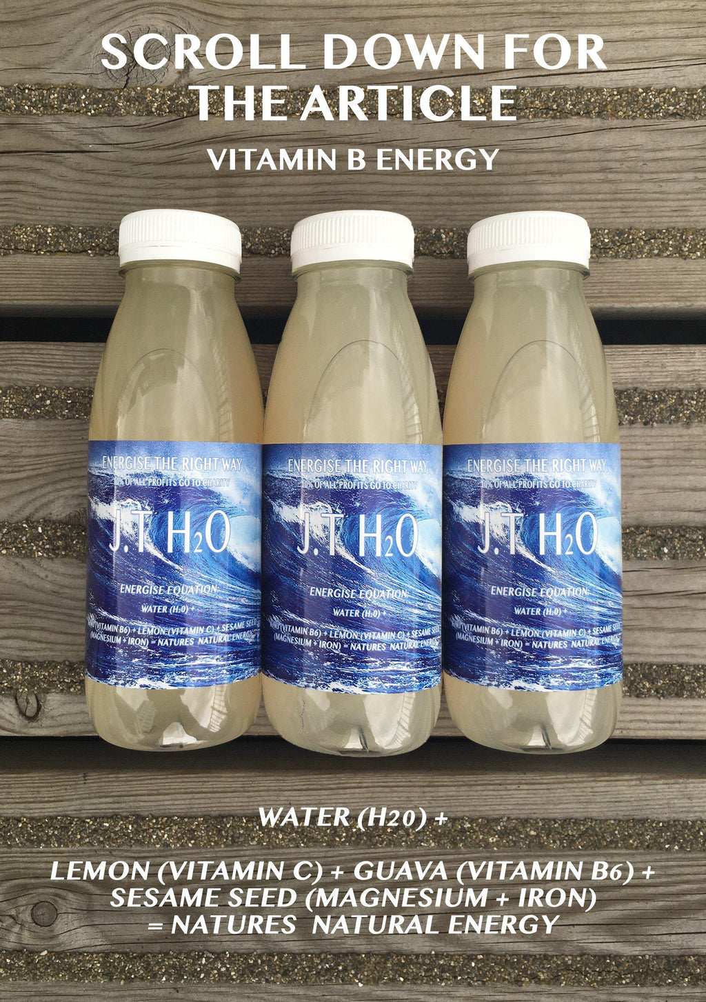 VITAMINS FOR ENERGY-J.T Freshly