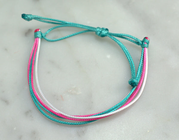 Paradise Cord Bracelet - Flying Bird Jewelry