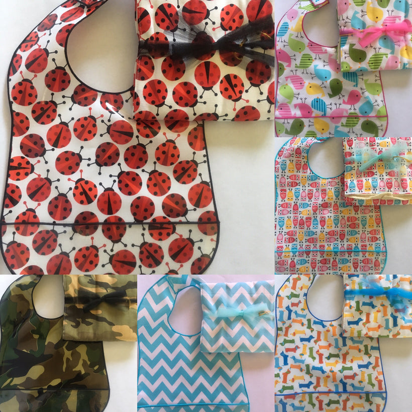 Burp & Bib Combo Gift Sets