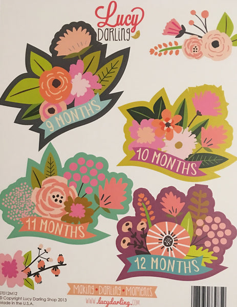 Little Blossom Stickers (1-12 months)