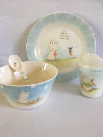 Sweet & Tender Dish Set (Blue)