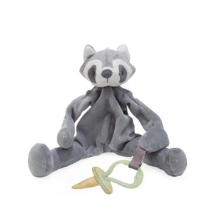 Pacifier Holder/Stuffed Animal (Roxy Racoon)