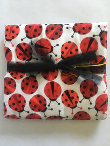 Ladybugs Burp Cloth