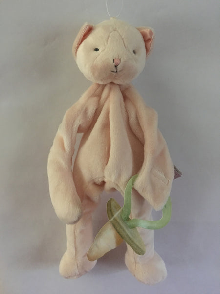 Pacifier Holder/Stuffed Animal (Purr-ty Kitty)