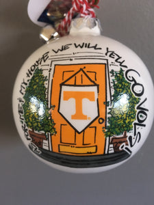 Tennessee VOLS Christmas Ornament