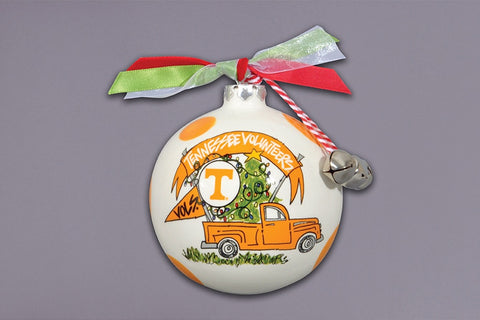 Tennessee Truck Christmas Ornament