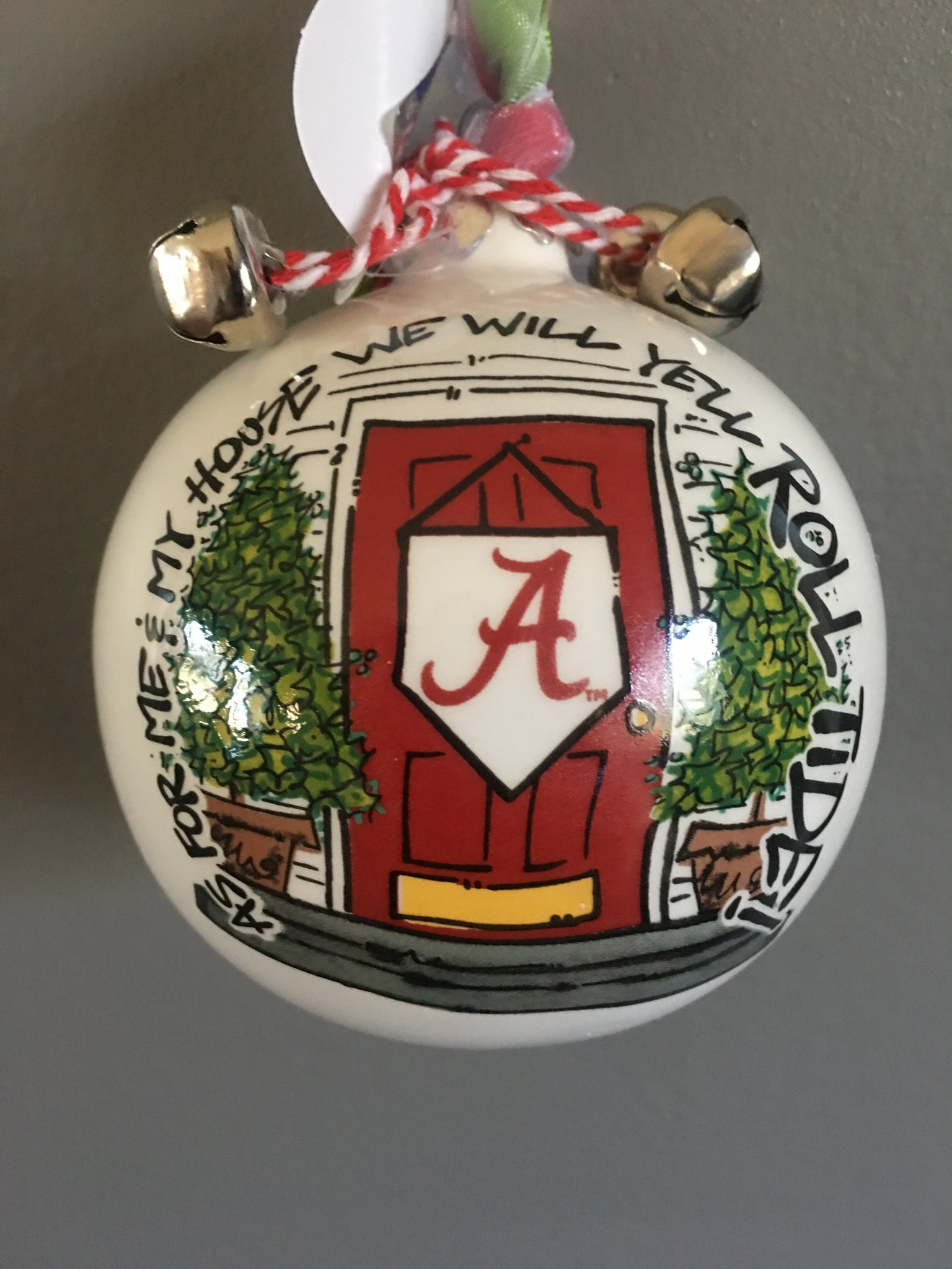 Alabama Crimson Tide Christmas Ornament