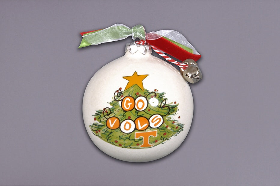 Tennessee Christmas Tree Ornament