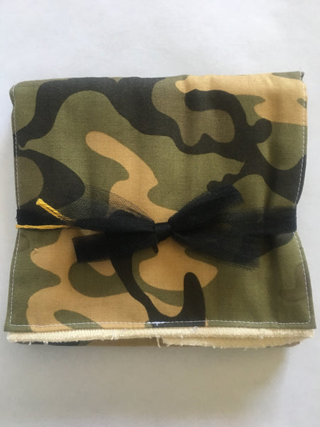 Camo Burp Cloth