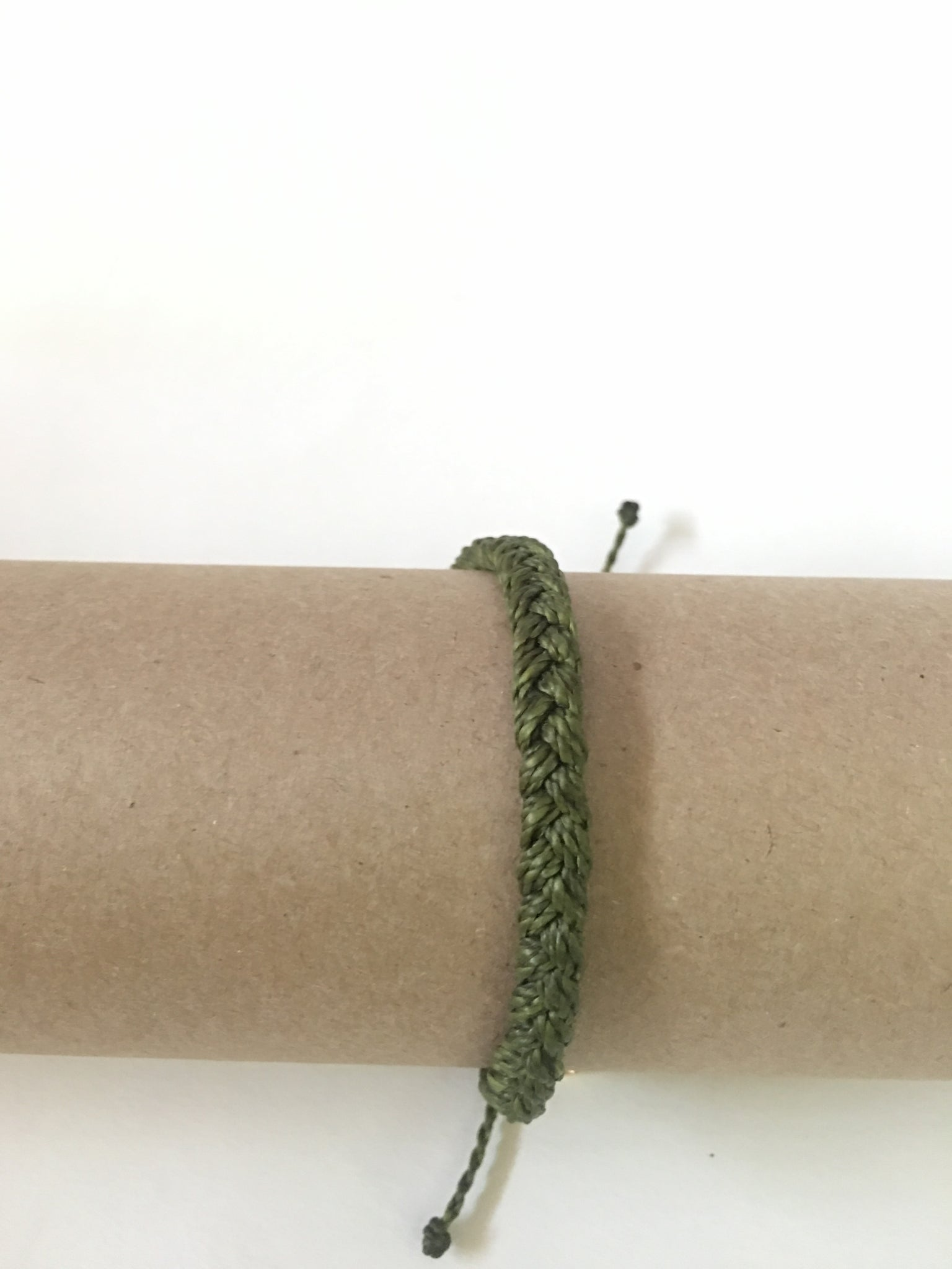 Army Green Braided